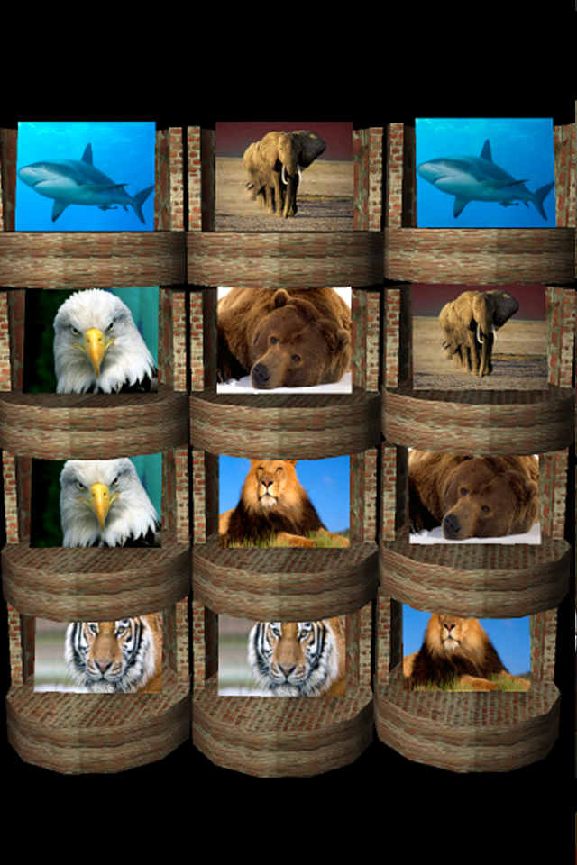 Screenshot Pairs Game 3d Animal Theme Pro